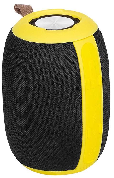 Bezvadu skaļrunis Trevi XR 86 BT Black/Yellow, 5 W
