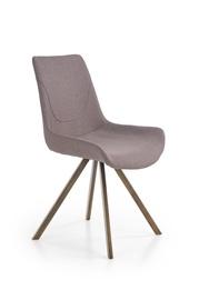 Ēdamistabas krēsls Halmar K290 Grey/Antique Gold