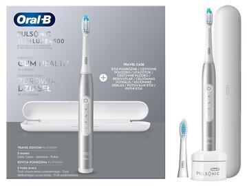 Электрическая зубная щетка Braun Oral-B Pulsonic Slim Luxe 4500 Platinum