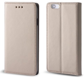TakeMe Smart Magnetic Fix Book Case For Huawei P30 Lite Gold