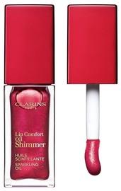 Блеск для губ Clarins Lip Comfort Oil Shimmer Burgundy Wine, 7 мл
