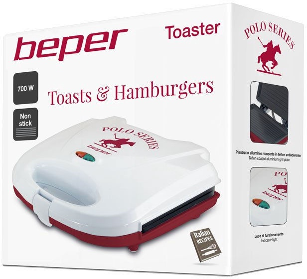 Sendviču tosteris Beper 90.485H