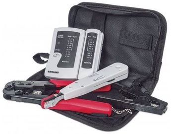 Intellinet Network Tool Kit LAN Tester / LSA Tool Crimping Stripping Tol