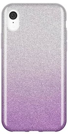Wozinsky Glitter Shining Back Case For Apple iPhone XR Purple