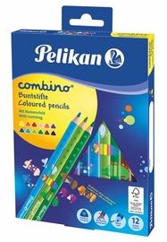 Pelikan Цветные карандаши, combino, 12 цветов