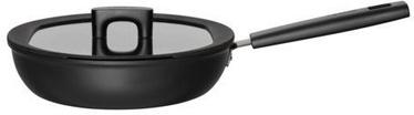 Fiskars Hard Face Saute Pan 26cm/2.8L With Lid