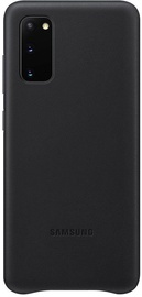Samsung Leather Back Case For Samsung Galaxy S20 Black