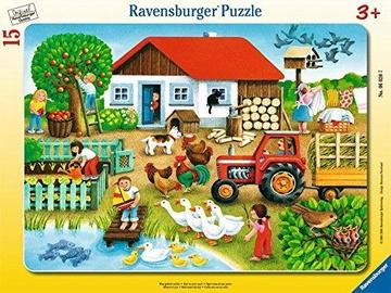 Пазл Ravensburger Farm Holidays 060207, 15 шт.