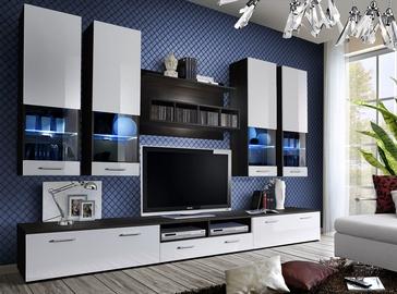 ASM Dorade Living Room Wall Unit Set White/Wenge