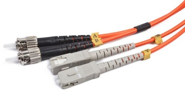 Gembird ST-SC Fiber Optic Patch Cable OM-2 5m