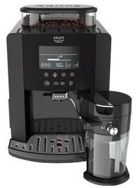 Кофеварка Krups Arabica Latte EA819N Black