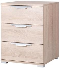 Ночной столик WIPMEB Naka 3S, дубовый, 46x42x61 см