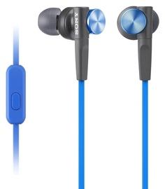 Austiņas Sony XB50AP Extra Bass Blue