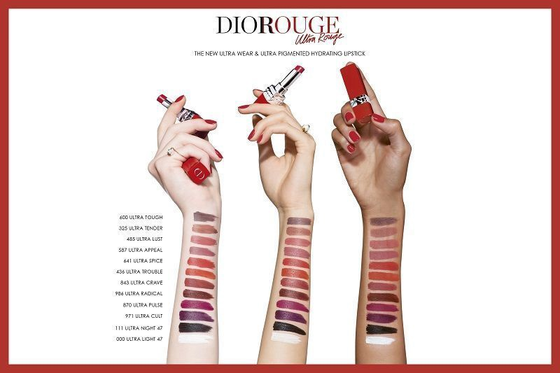 Губная помада Christian Dior Rouge Dior Ultra Rouge 533 Limited Edition, 3.2 г