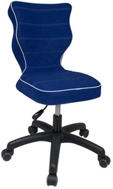 Bērnu krēsls Entelo VS06 Black/Blue, 370x350x830 mm