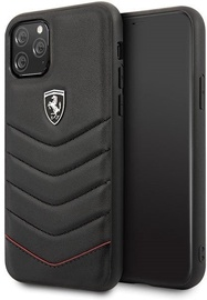 Ferrari FEHQUHCN58BK Back Case For Apple iPhone 11 Pro Black