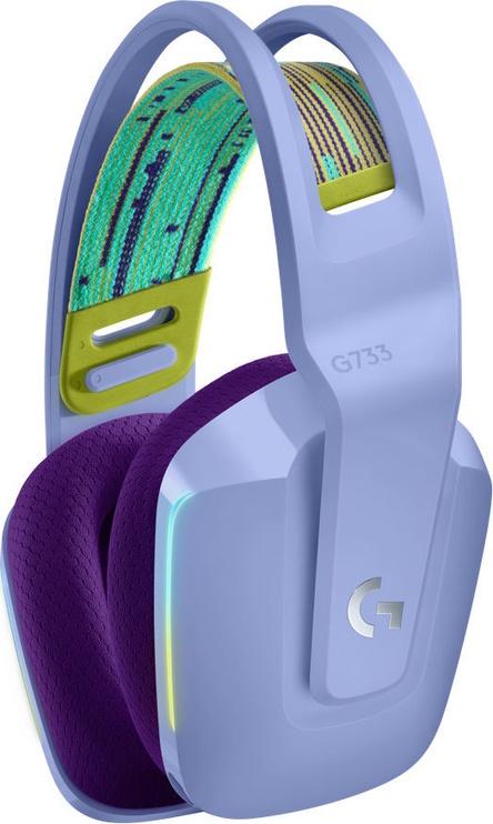 Беспроводные наушники Logitech G733, фиолетовый