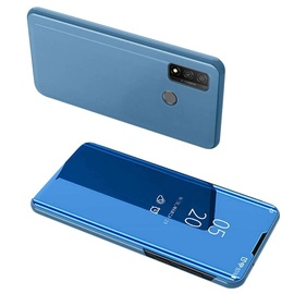 Hurtel Clear View Case For Huawei P Smart 2020 Blue
