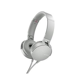 Austiņas Sony MDRXB550APW.CE7 White/Black