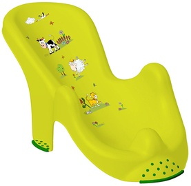 Keeeper Anatomic Baby Bath Chair Funny Farm Green Meadow