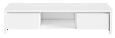 ТВ стол Black Red White Kaspian, белый, 1435x555x335 мм