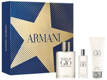 Giorgio Armani Acqua di Gio Pour Homme 100ml EDT + 75ml Shower Gel + 15ml EDT