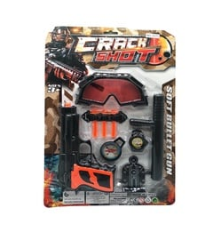 Crack Shot Soft Bullet Gun Set 516625897