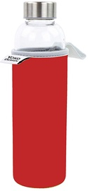 Yoko Design Glass Bottle With Sleeve Red