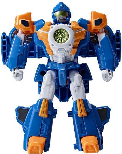 Rotaļlieta transformeris Young Toys Mini Tobot Mach W