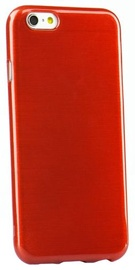 Forcell Jelly Brush Back Case For Samsung A500 Galaxy A5 Red