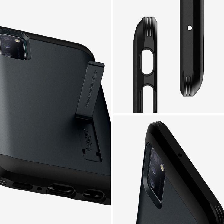 Spigen Tough Armor Back Case For Samsung Galaxy A41 Metal Slate
