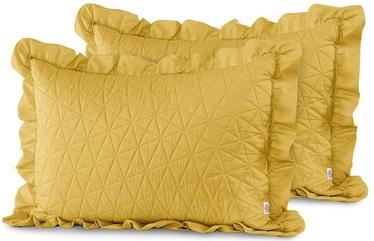 AmeliaHome Tilia Pillowcase Honey 50x70cm 2pcs