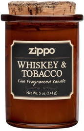 Aromātiskā svece Zippo Spirit Candle Whiskey And Tobacco, 35 h