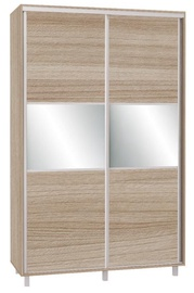 Skapis Bodzio SZP150W Latte, 150x60x240 cm, with mirror