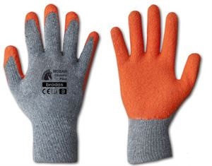 CS Knitted Gloves With Rubber Coating 10