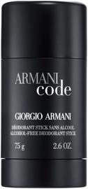 Vīriešu dezodorants Giorgio Armani Black Code, 75 ml