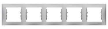 Рамка Schneider Electric Sedna Five Way Frame SDN5801060 Aluminium