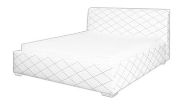 Bodzio Amadis A70 w/ Mattress 160x200 White