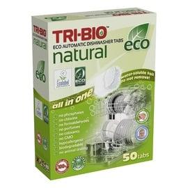 Trauku mazgājamās mašīnas kapsulas Tri-Bio Eco Automatic, 50 gab.