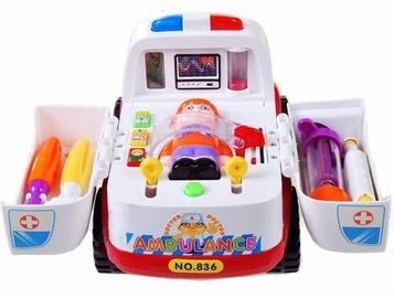 Rotaļlietu ārsta komplekts Hola Activity Toy Little Learning Ambulance