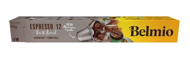 Kaf.kaps. Belmoca Belmio Sleeve Espresso Extra Dark Roast 1*10, intensity 12/12