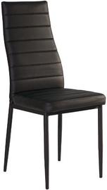 Ēdamistabas krēsls Signal Meble H261 Black/Black, 1 gab.