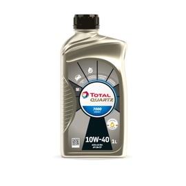 Pussintētiska motoreļļa Total Quartz 7000 10w40, 1l