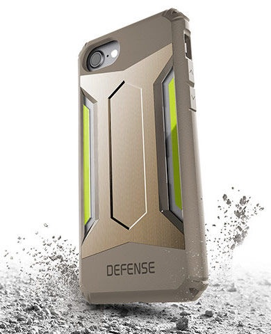 X-Doria Defense Gear Back Case For Apple iPhone 7 Gold