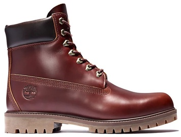 Timberland Heritage 6 Inch Waterproof Boots A22W9 Burgundy 41.5