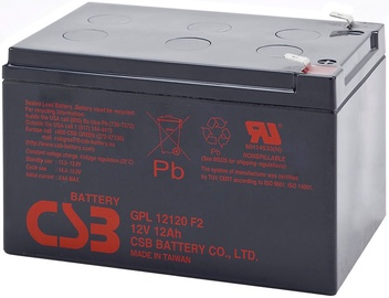 CSB GPL12120 12V/12Ah Battery