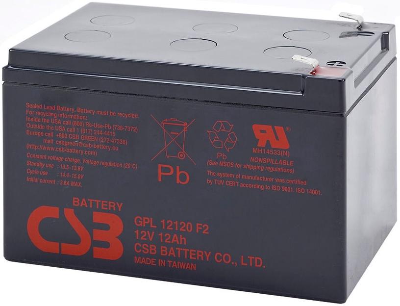 CSB GPL12120 12V/12Ah Battery