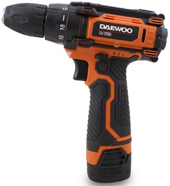 Akumulatora skrūvgriezējs - urbis Daewoo DAA 1210