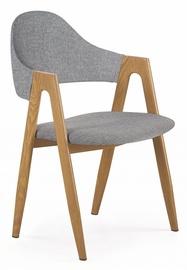 Стул для столовой Halmar K344, коричневый/серый