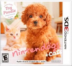 Игра Nintendogs+Cats: Toy Poodle 3DS